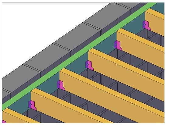 Am nagement d 39 un plancher sous toiture d 39 un box garage 7 messages - Construire un plancher bois ...